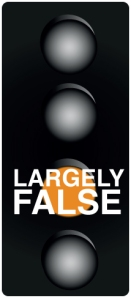 Largely False