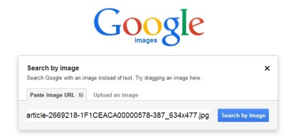 Google reverse image search of Reuters photo