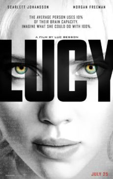 Lucy 2014 film poster